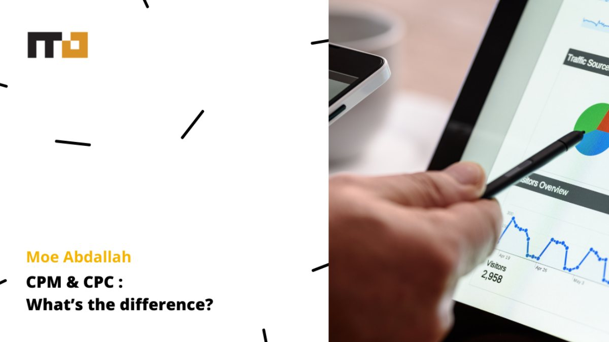 CPM and CPC: What's the difference blog banner